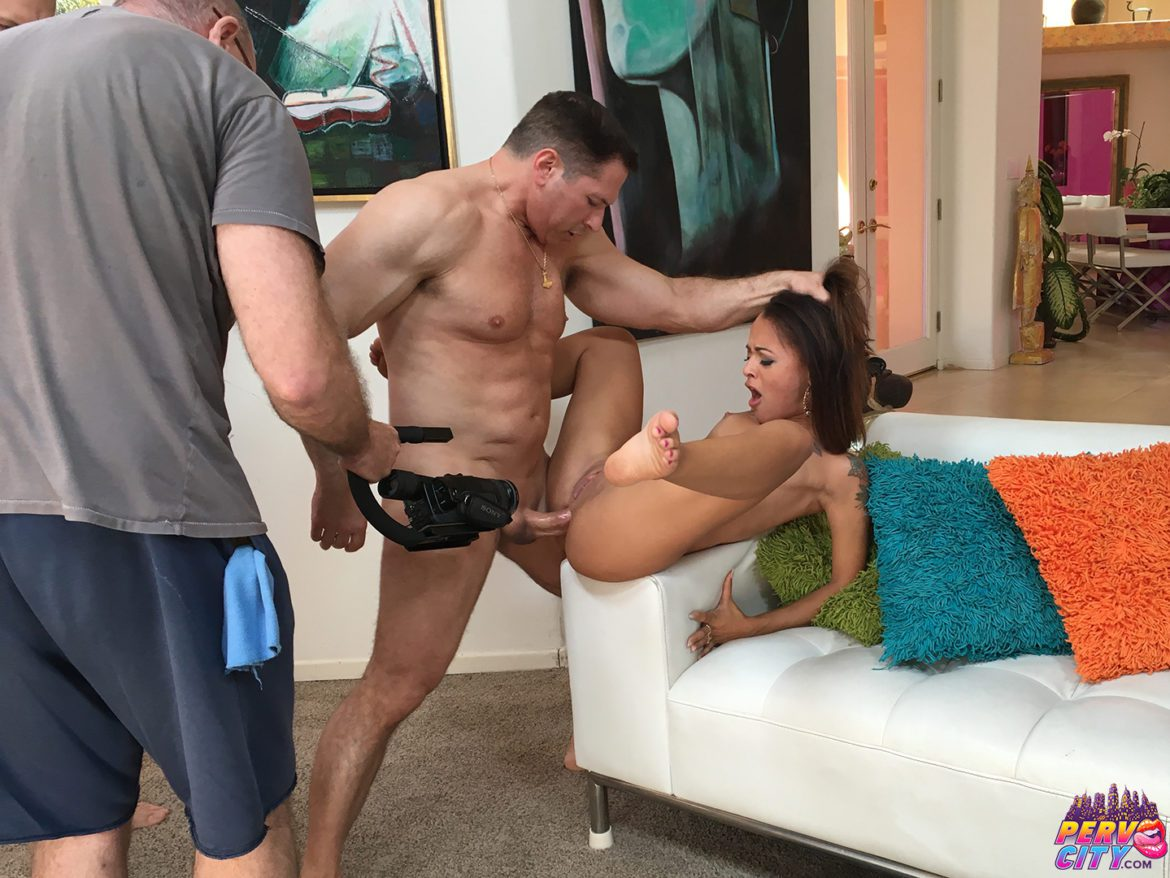 Behind the scenes anal porn hot