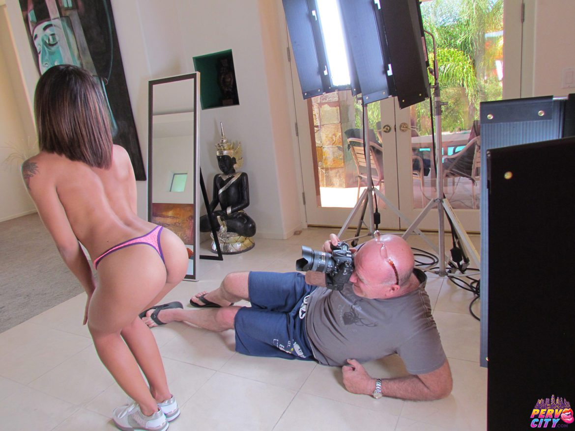 Holly Hendrix DP Behind the Scenes