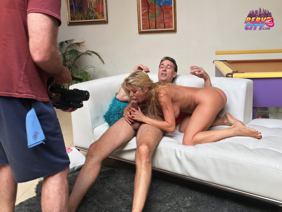 Behind the Scenes with Milf Alexis Fawx