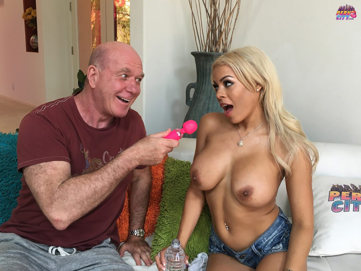 Luna Star, cuban, pornstar, blonde, blowjob, deep throat, spit, cumshot, big tits, oral overdose