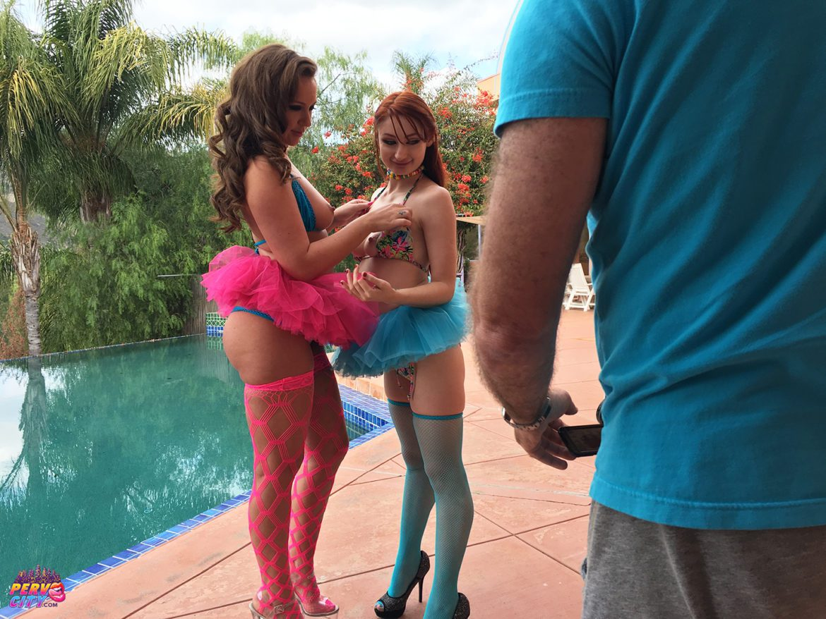 Violet Monroe and Maddy O'Reilly – Love At First Sight