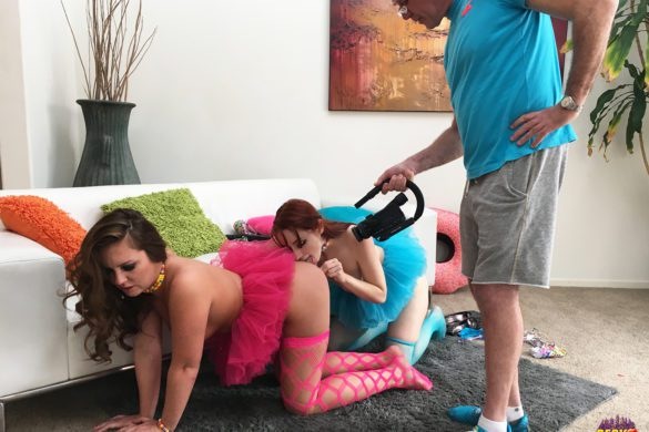 Maddy O'Reilly, Violet Monroe, GG, girl-girl, anal, lesbian, toys, pussy licking, pervcity, bts, behind the scenes
