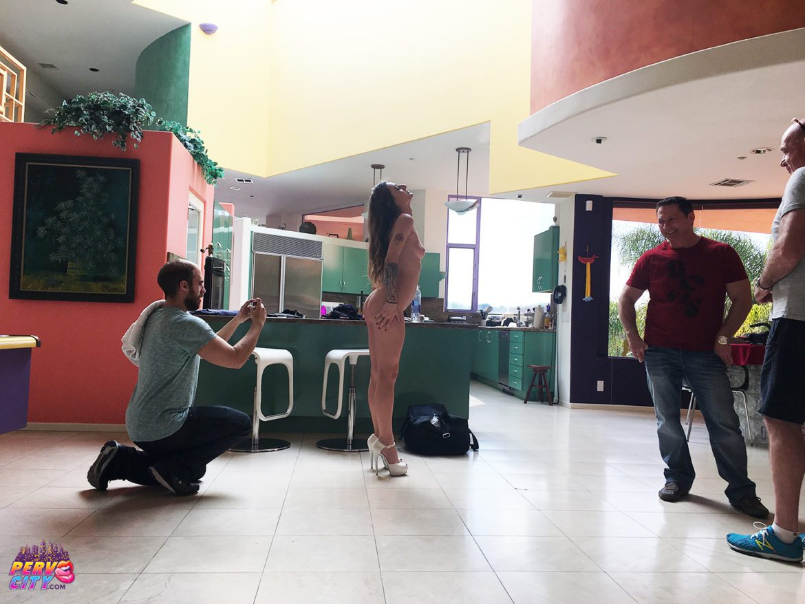 Natasha Starr DP – Behind the Scenes