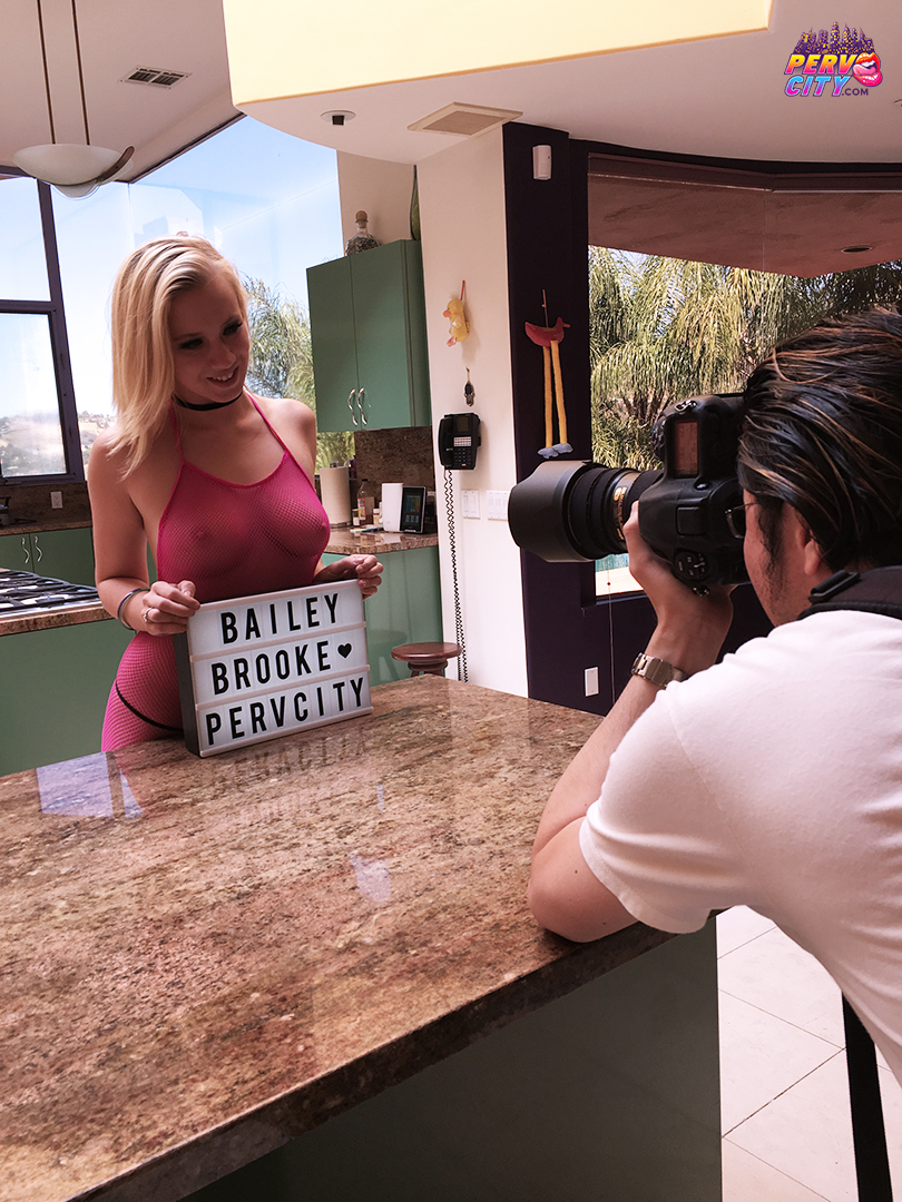 Bailey Brooke Behind the Scenes for Oral Overdose