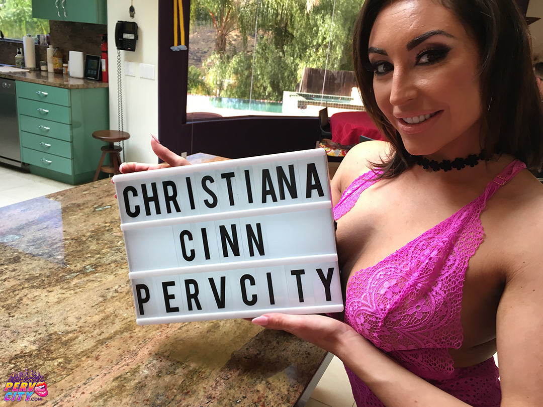 Anal Beauty Christiana Cinn: Behind The Scenes
