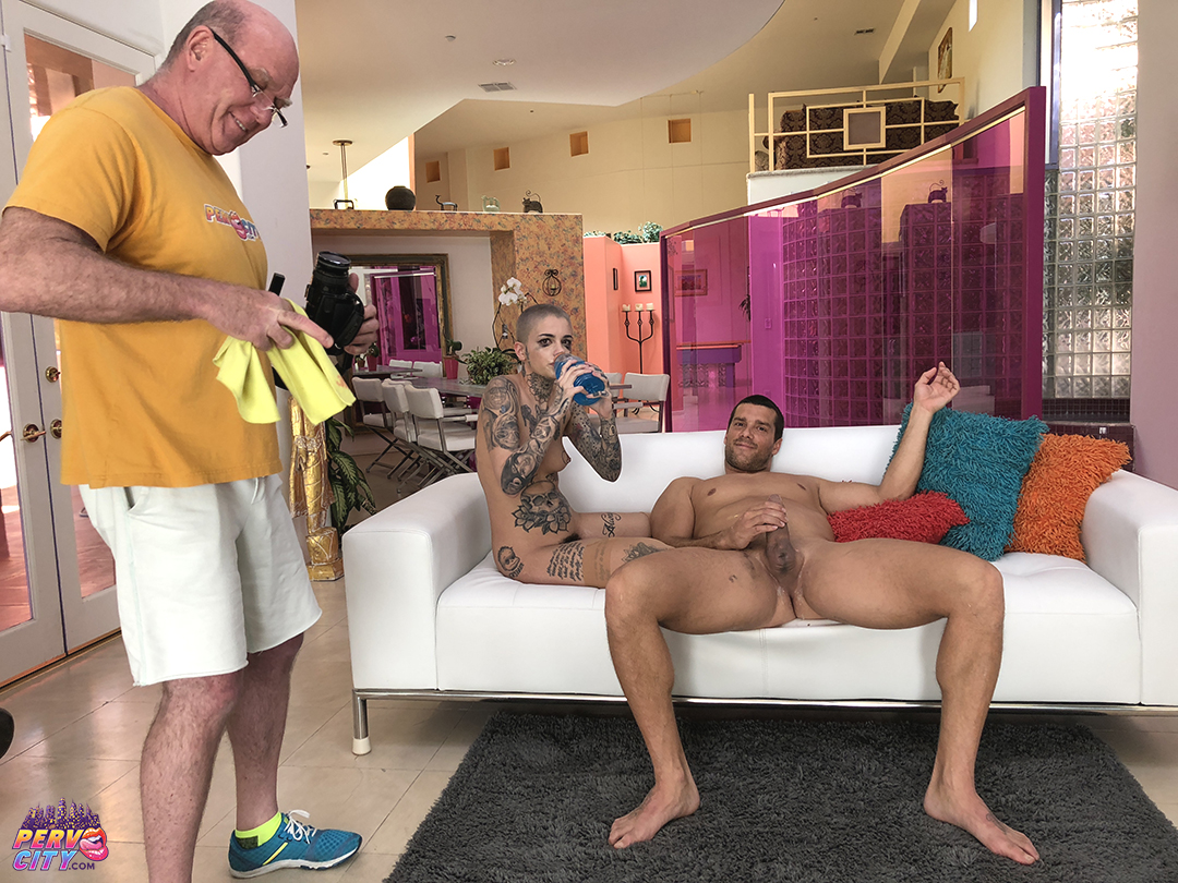 Oral Overdose with Leigh Raven BTS