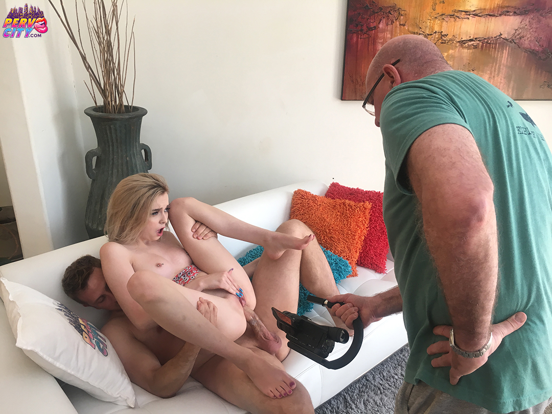 Lexi Lore –  Behind the Scenes for Banging Beauties