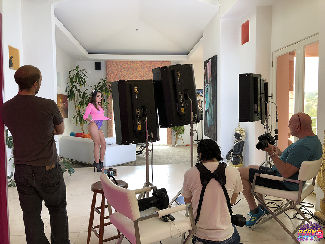 BTS with Teen Esperanza del Horno