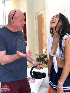 Lilly Hall, Justin Hunt, anal, brunette, Maestro Claudio, porn bts, flexible, selfies