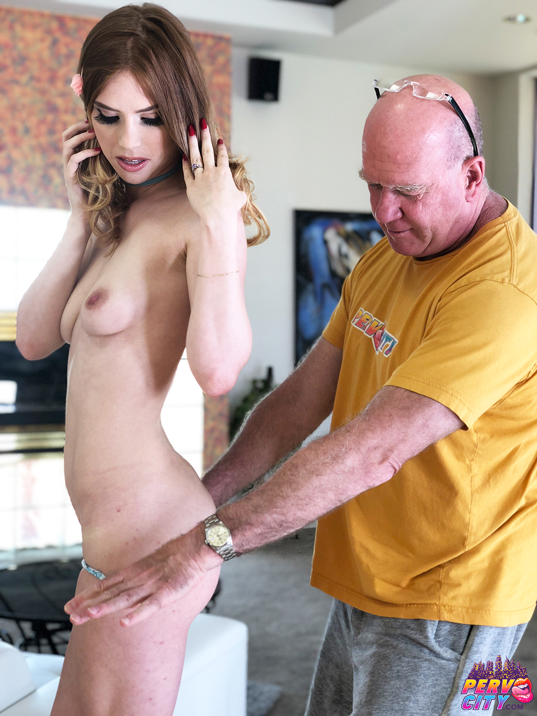 Pepper Hart Anal Creampie Behind the Scenes