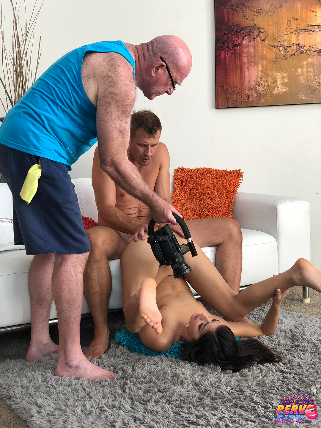 Emily Willis PervCity Debut Behind the Scenes