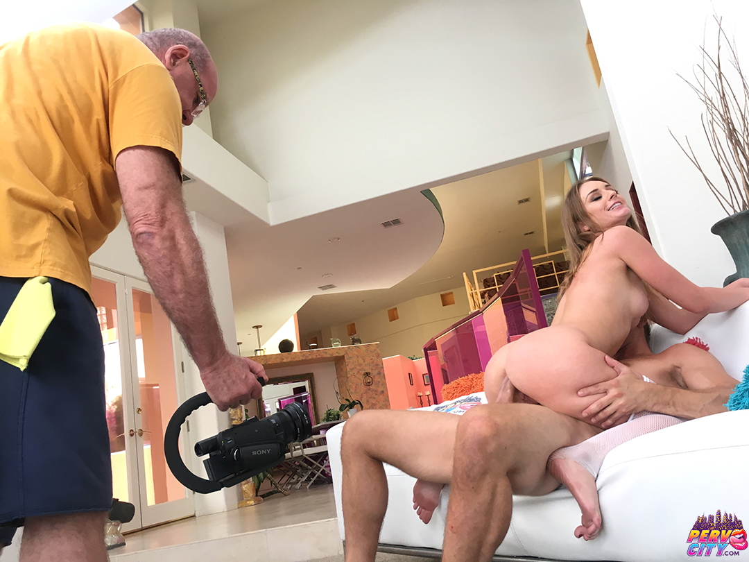 Daisy Stone Anal Behind the Scenes
