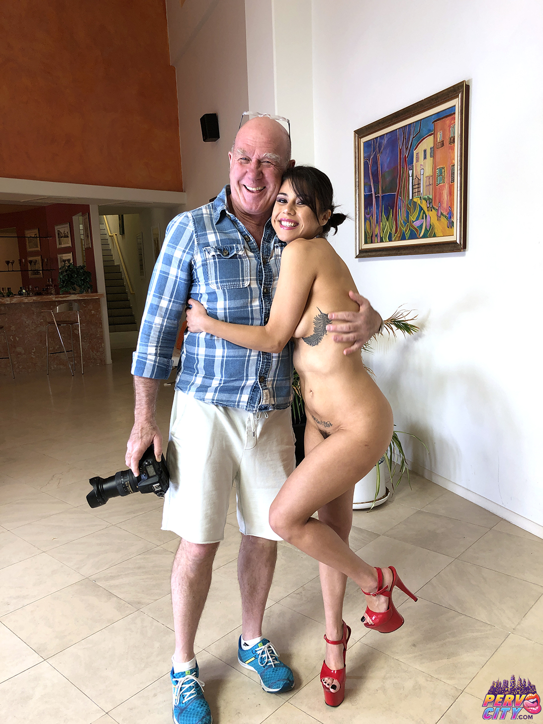 Cumslut Academy Kacie and Penelope BTS