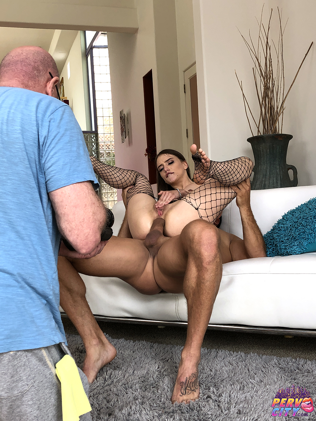 Izzy Lush Back for Anal Behind the Scenes